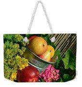 Tub Of Apples Weekender Tote Bag