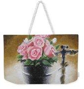 Tub Of Roses Weekender Tote Bag
