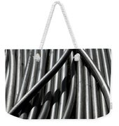 Tubular Abstract Art Number 13 Weekender Tote Bag