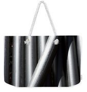 Tubular Abstract Art  Number 5 Shadow And Light  Weekender Tote Bag