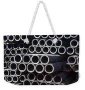 Tubular Abstract Art Number 7 Weekender Tote Bag