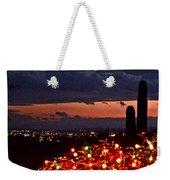 Tucson City Lights Weekender Tote Bag