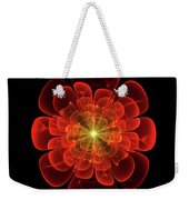 Tudor Rose - Abstract Weekender Tote Bag
