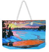 Tuesday Sunset Weekender Tote Bag