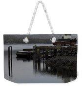 Tug Boat Weekender Tote Bag