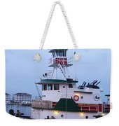Tugboat At Twilight Weekender Tote Bag