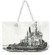 Tugboat David Foss Weekender Tote Bag