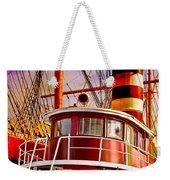 Tugboat Helen Mcallister Weekender Tote Bag by Chris Lord