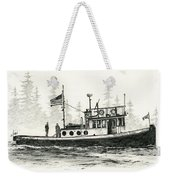 Tugboat Henrietta Foss Weekender Tote Bag