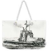 Tugboat Kelly Foss Weekender Tote Bag