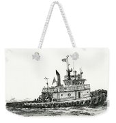 Tugboat Shelley Foss Weekender Tote Bag