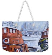 Tugs In Harbour Weekender Tote Bag