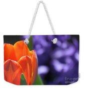 Tulip And Hyacinth Weekender Tote Bag