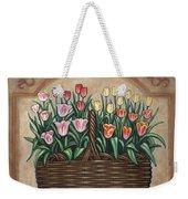 Tulip Basket Weekender Tote Bag