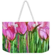 Tulip Bloomies 1 - Pink Weekender Tote Bag