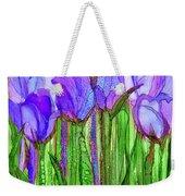 Tulip Bloomies 1 - Purple Weekender Tote Bag