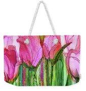 Tulip Bloomies 2 - Pink Weekender Tote Bag
