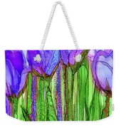 Tulip Bloomies 2 - Purple Weekender Tote Bag