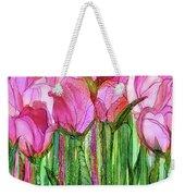 Tulip Bloomies 3 - Pink Weekender Tote Bag