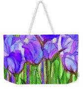 Tulip Bloomies 3 - Purple Weekender Tote Bag