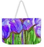 Tulip Bloomies 4 - Purple Weekender Tote Bag