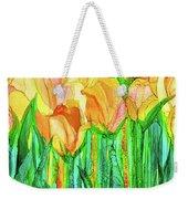 Tulip Bloomies 4 - Yellow Weekender Tote Bag