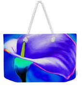 Tulip Blue By Nicholas Nixo Efthimiou Weekender Tote Bag