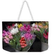 Tulip Bouquets Weekender Tote Bag