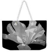 Tulip - Bw Weekender Tote Bag