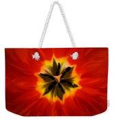 Tulip Explosion Kaleidoscope Weekender Tote Bag