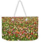 Tulip Field Weekender Tote Bag
