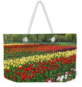 Tulip Fields Weekender Tote Bag