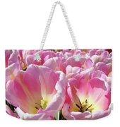 Tulip Flowers Garden Art Pink Tulips Baslee Troutman Weekender Tote Bag