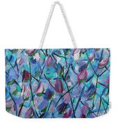 Tulip Harmony- Abstract Art Weekender Tote Bag