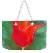 Tulip In Abstract. Weekender Tote Bag