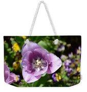 Tulip Lavender Weekender Tote Bag