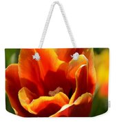 Tulip On Fire Weekender Tote Bag