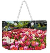 Tulip Parade Weekender Tote Bag