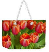 Tulip Patch Weekender Tote Bag