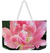 Tulip Peppermint Pink Weekender Tote Bag