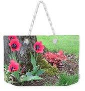 Tulip Poppie Weekender Tote Bag