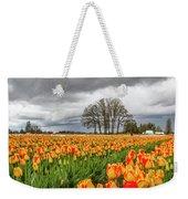 Tulip Rows Weekender Tote Bag