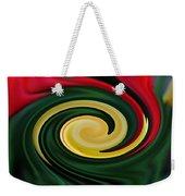 Tulip Swirl Weekender Tote Bag