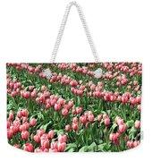 Tulip Town 14 Weekender Tote Bag