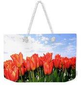 Tulip Town 17 Weekender Tote Bag