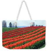 Tulip Town 18 Weekender Tote Bag