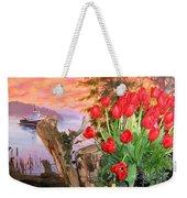 Tulip Town 19 Weekender Tote Bag