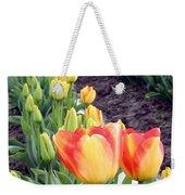 Tulip Town 6 Weekender Tote Bag