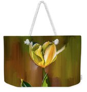 Tulip White Yellow Petals #h5 Weekender Tote Bag