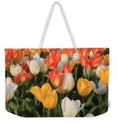 Tulips Ablaze With Color Weekender Tote Bag